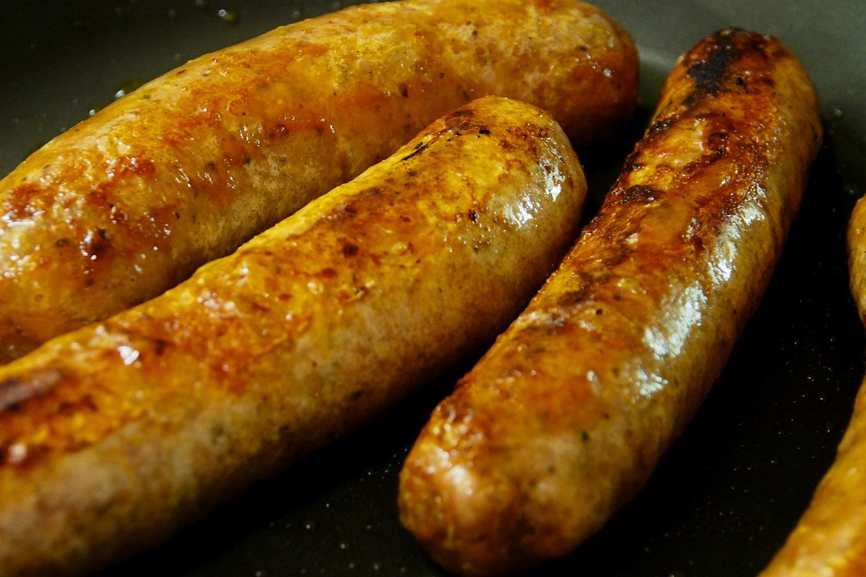 Bratworst Sausages © Neil Hennessy-Vass