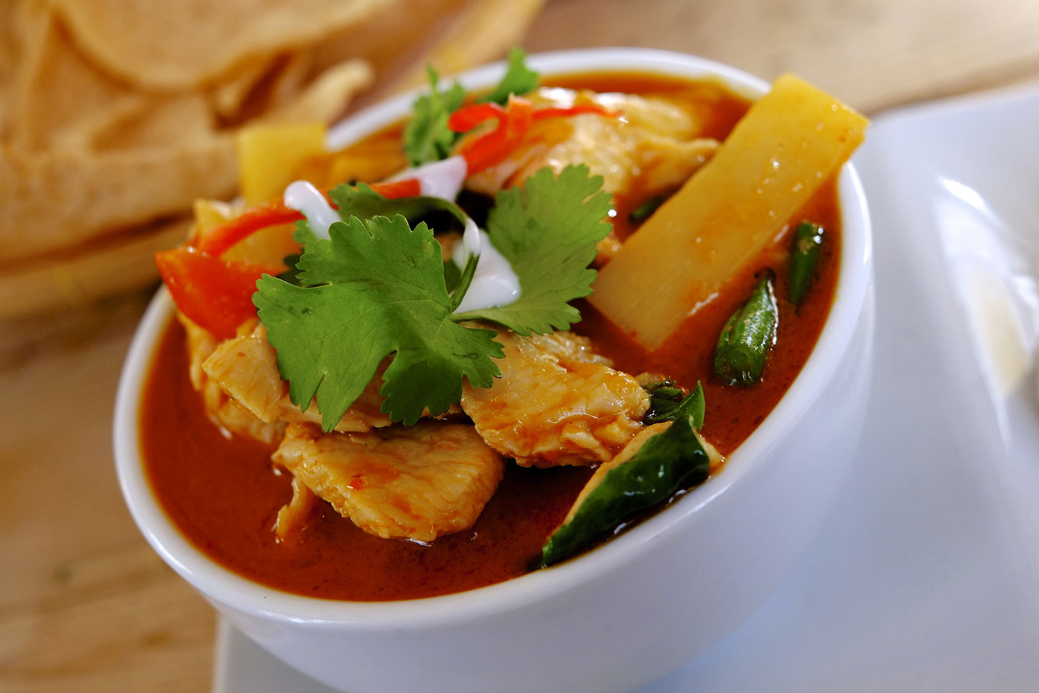 Chicken Red Curry © Neil Hennessy-Vass