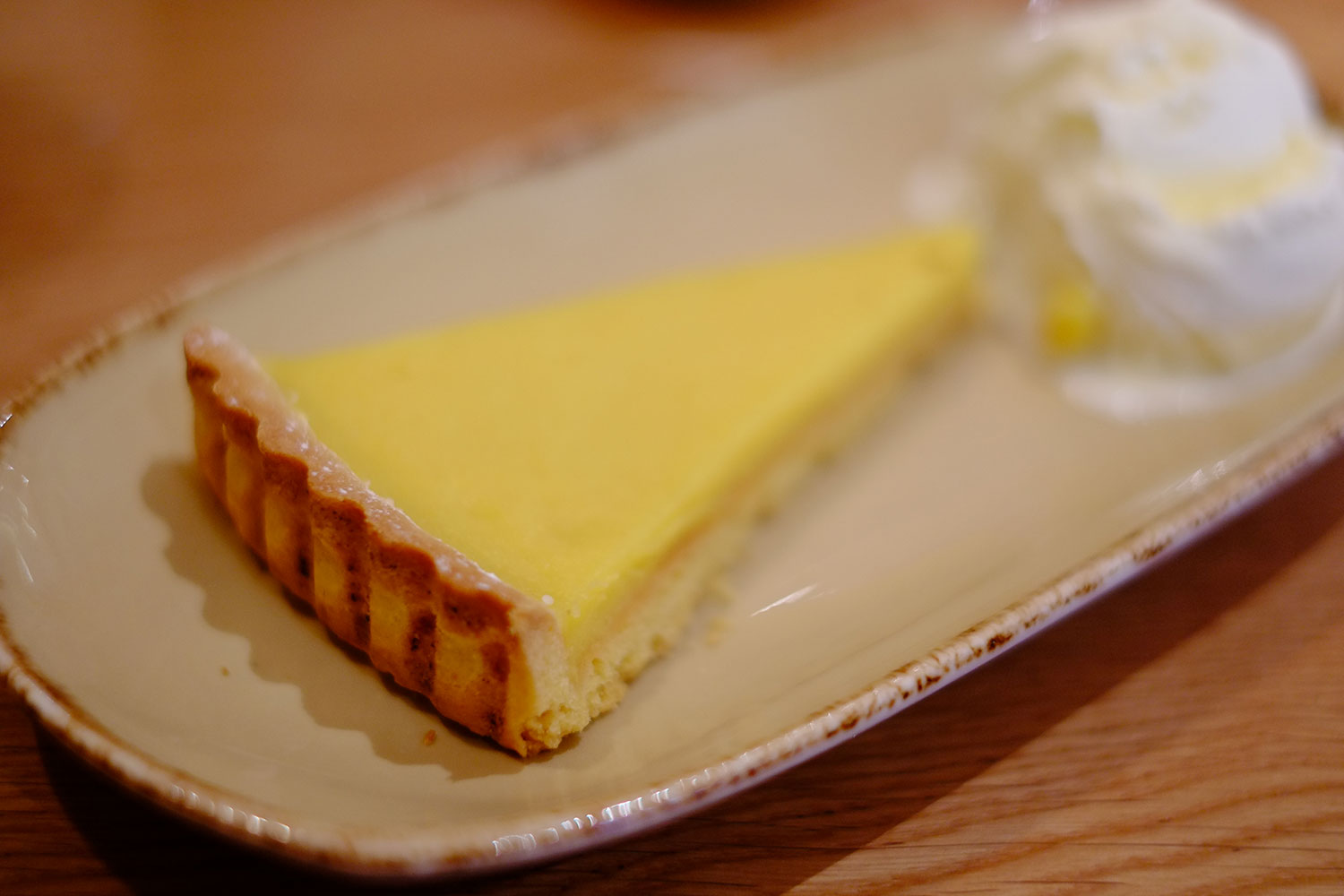 Lemon Pie with Clotted Cream Ice Cream