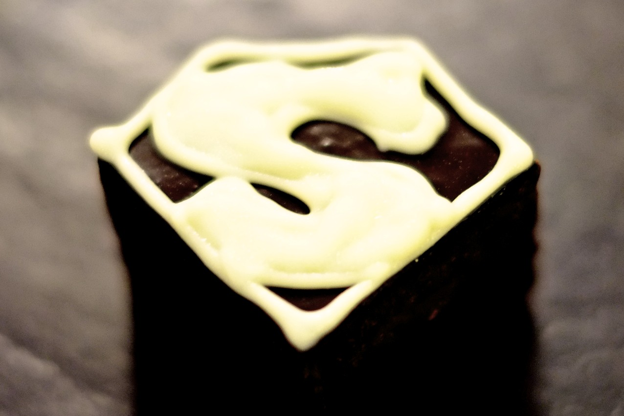 Superman Chocolate Brownie © Neil Hennessy-Vass