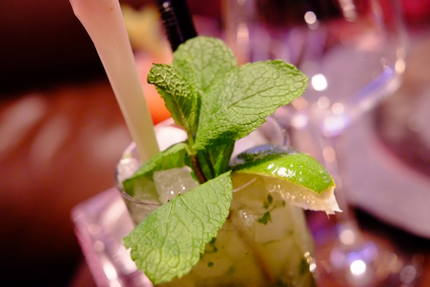 Thai Mojito. Photo: © Neil Hennessy-Vass