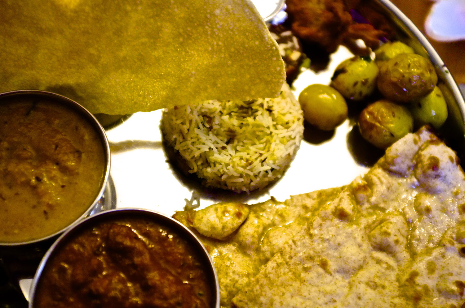 Royal Meat Thali