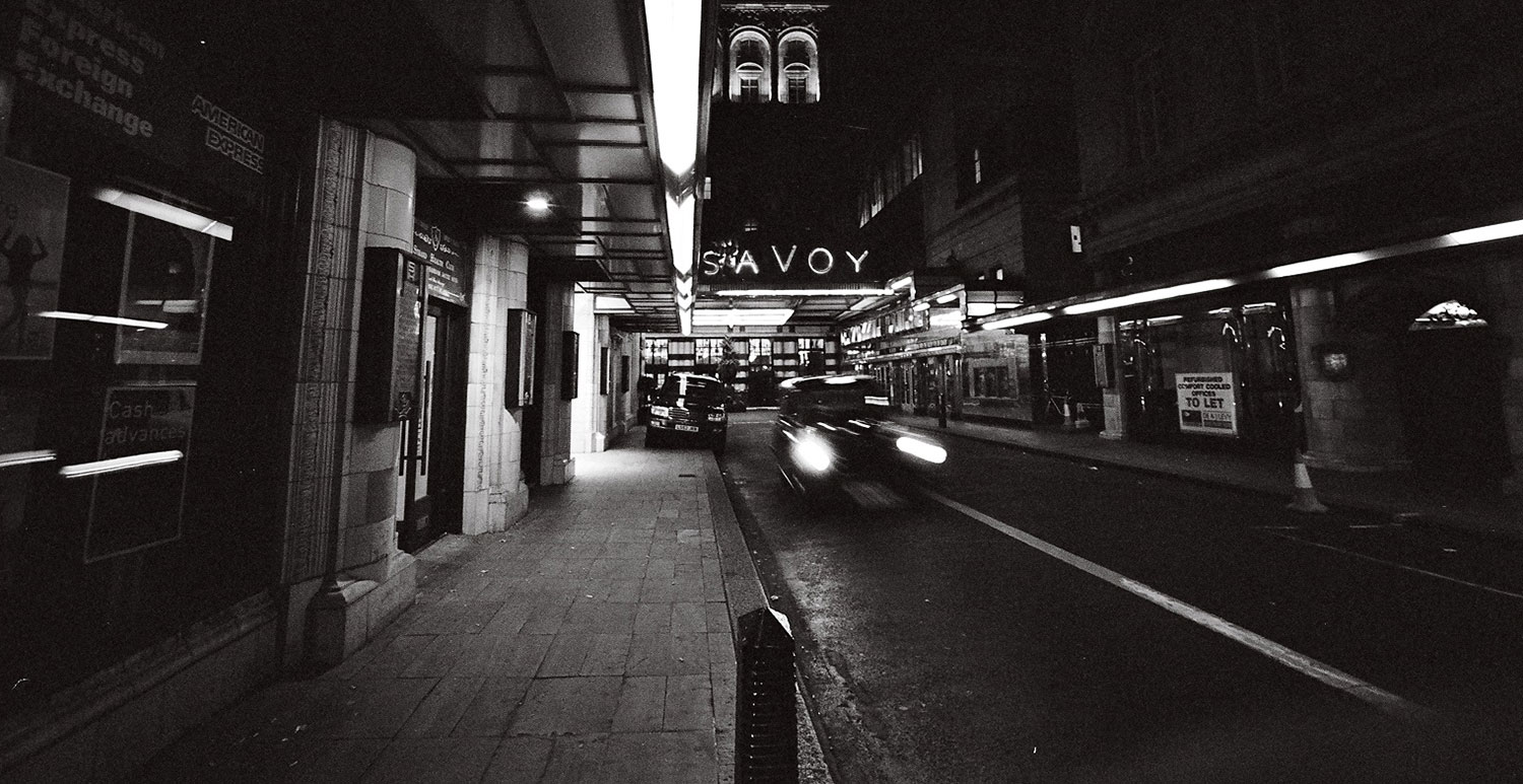 London Savoy at Night | Neil Hennessy-Vass