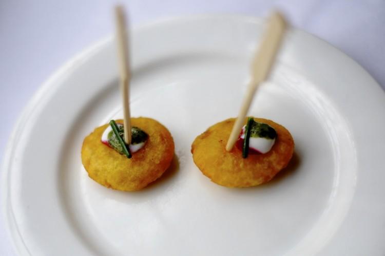 Potato and Cumin Amuse Buche