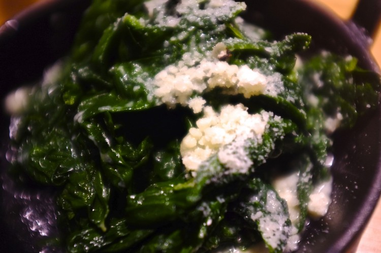 Spinach & Parmesan