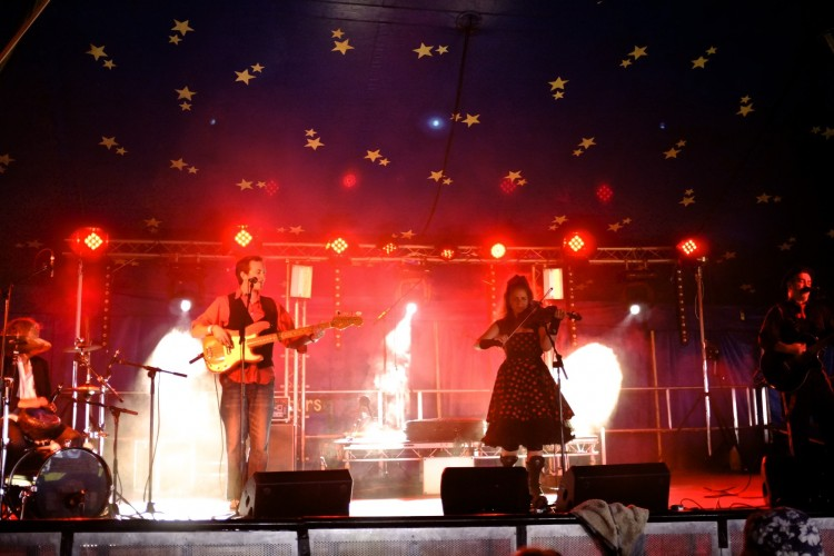 Band in BIg Top