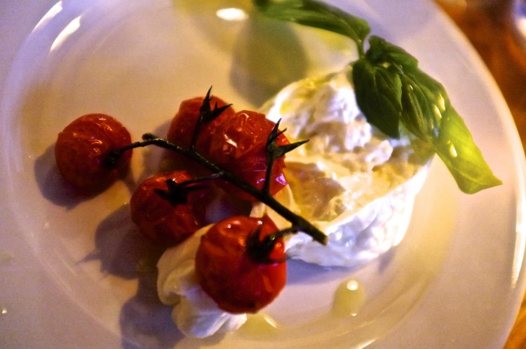 Burrata, Roast Cherry Tomatoes