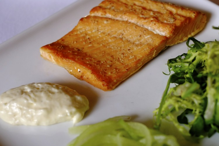 Home Smoked Trout with Horseradish Cream