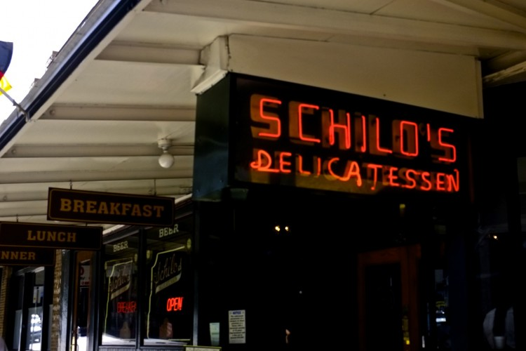 Shilo's Deli, San Antonio Sign