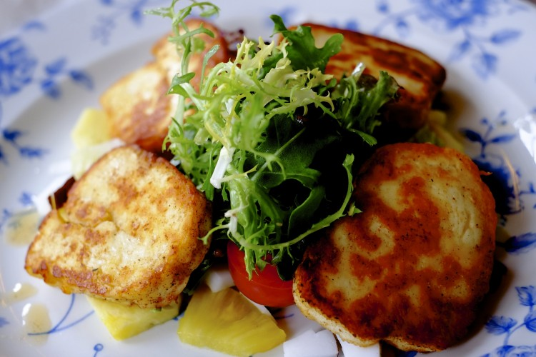 Spiced Haloumi