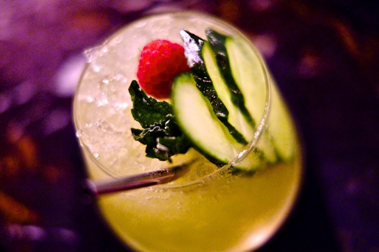 Apple & Cuccumber Cocktail