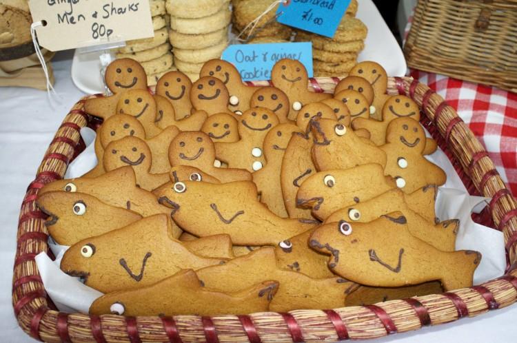 Gingerbread Men and Sharks