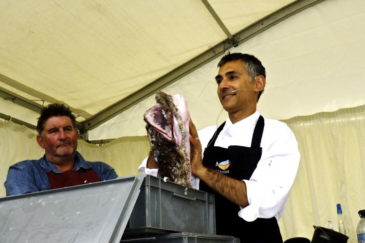 Paul Webbe with Monkfish