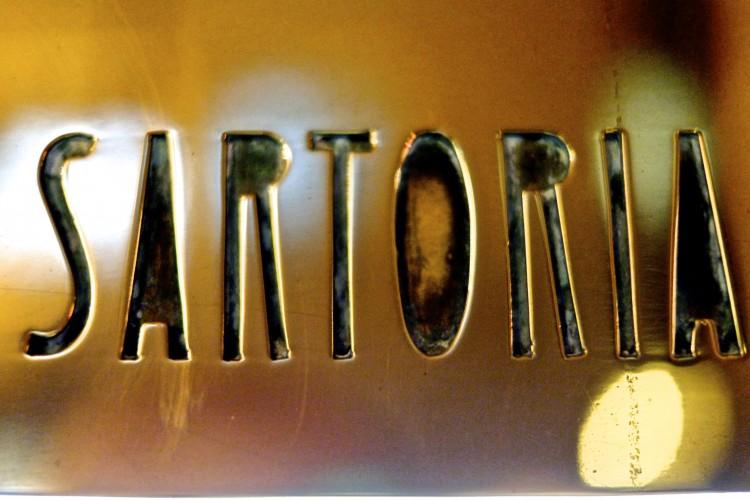 Sartoria Sign