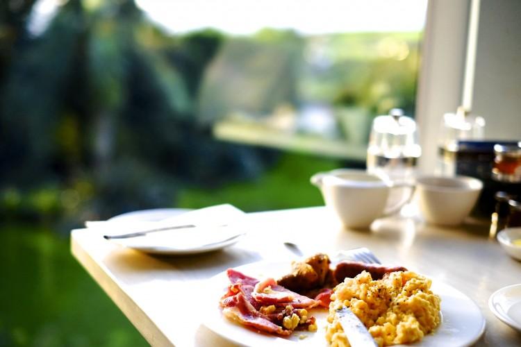 Breakfast at the Window
