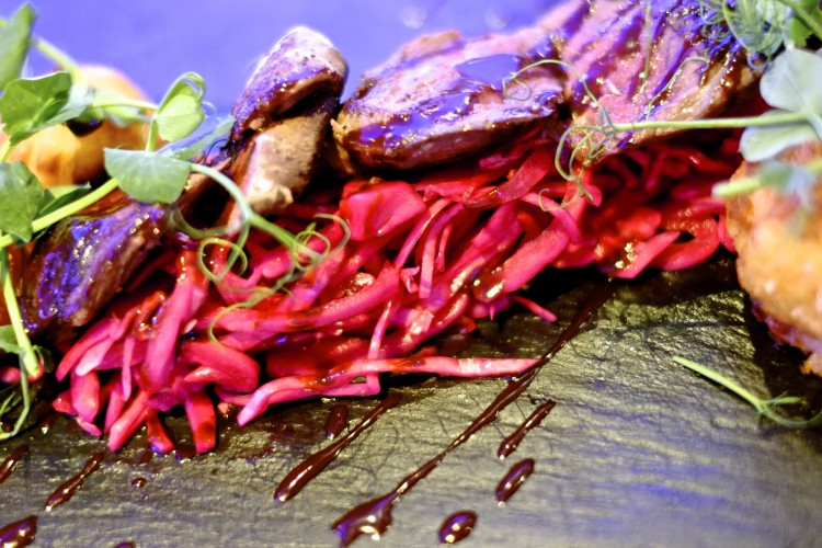 Pigeon with Chocolate and Chilli Sauce