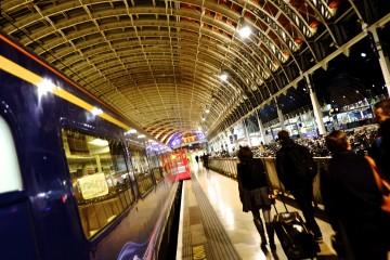 Train and Passengers external