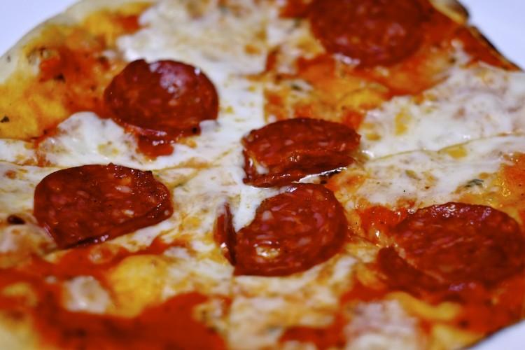 American Picante Pizza
