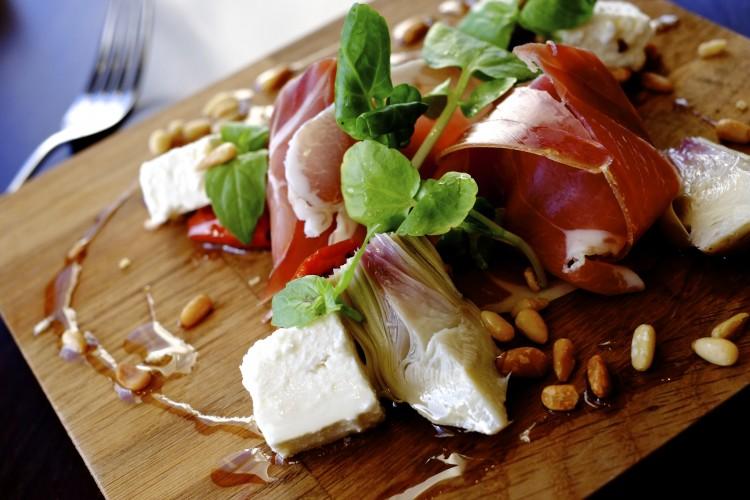 Ham and Feta Salad