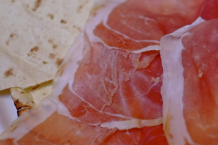 Parma Ham and Flatbread