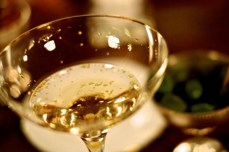 Gold Leaf Cocktail
