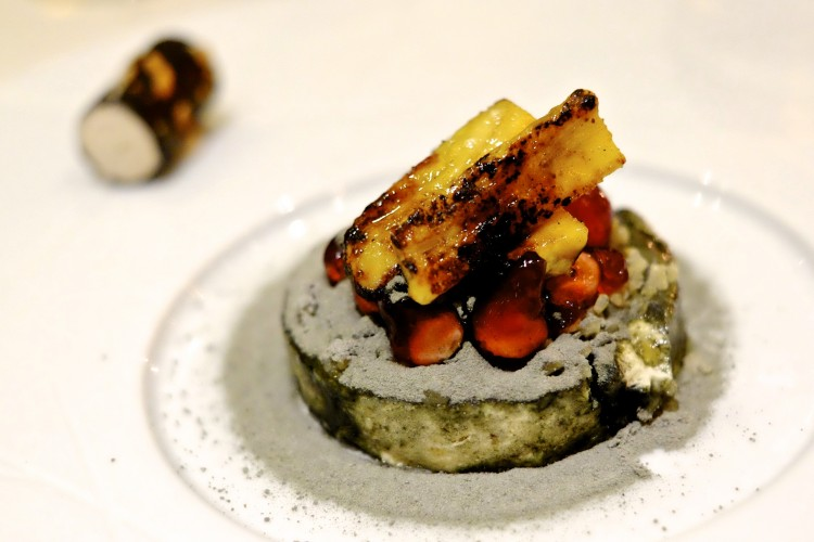 BBQ Banana with Lime Parfait