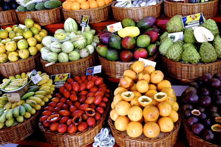 Baskets of Fruit