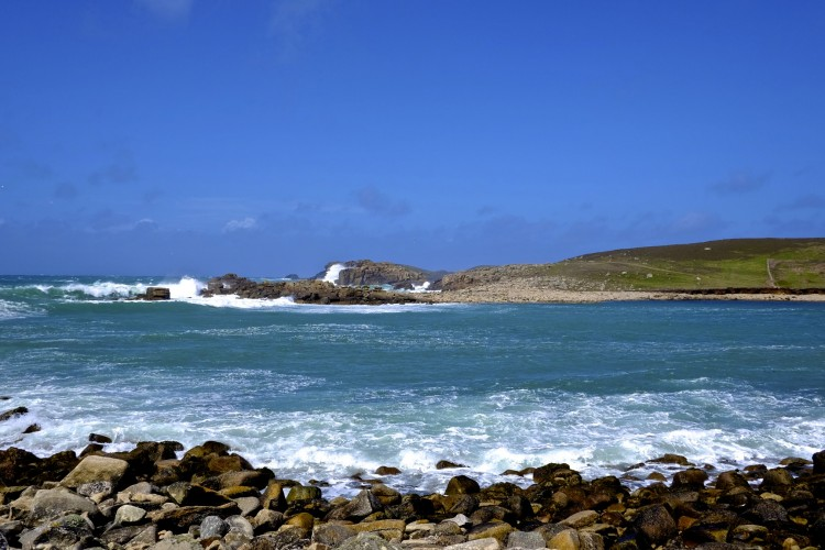 Rocks and Bay
