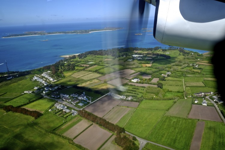 Scillies from Above