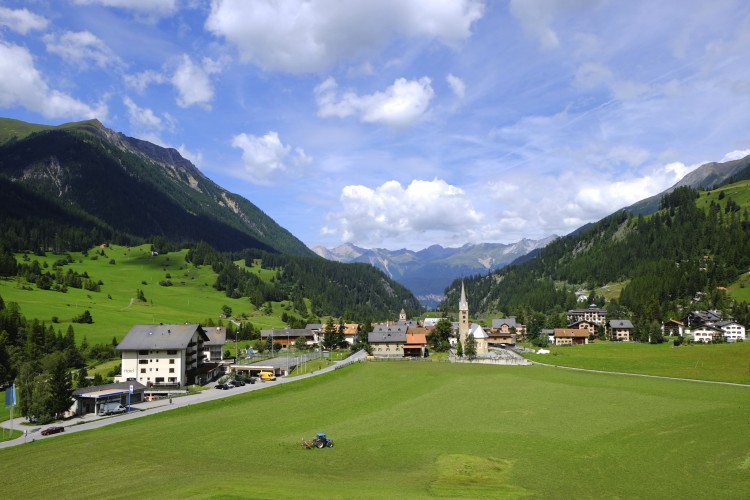 Perfect Swiss Village