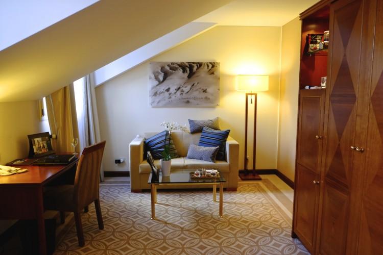 Room interior St. Moritz