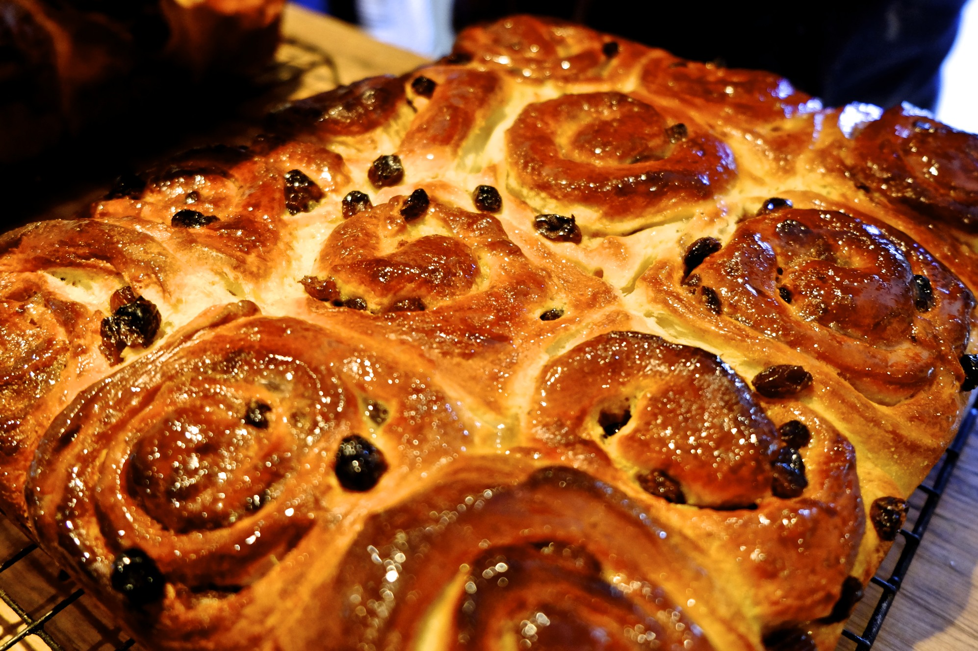 Chelsea Buns Cooked
