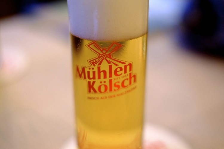 Glass of Kolsch