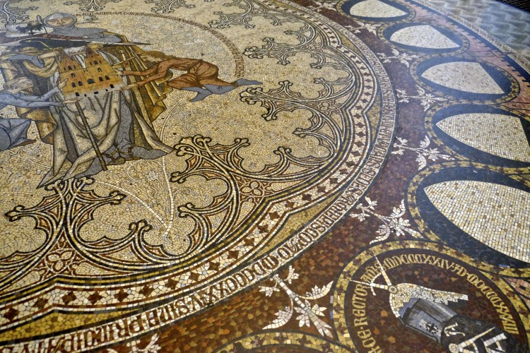 Mosaic Floor in Cathedral