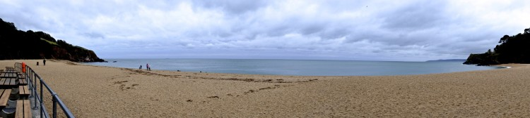 Blackpool Sands Panoramic