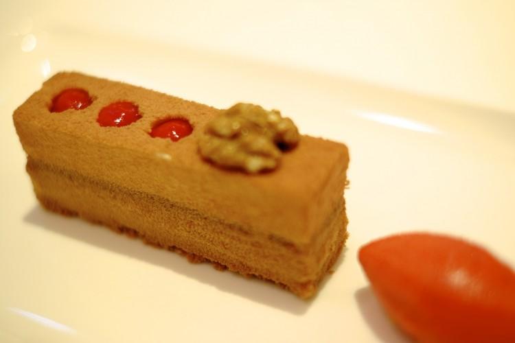 Mushroom Chocolate Dessert