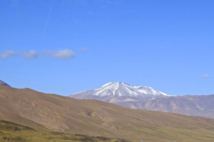Peak in Andes
