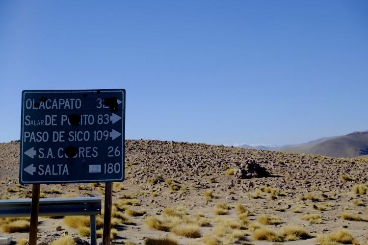 Road sign - Distances