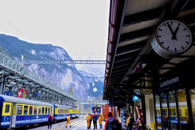 Train and Clock