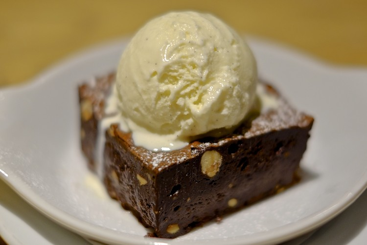 Chocolate and Hazelnut Brownie