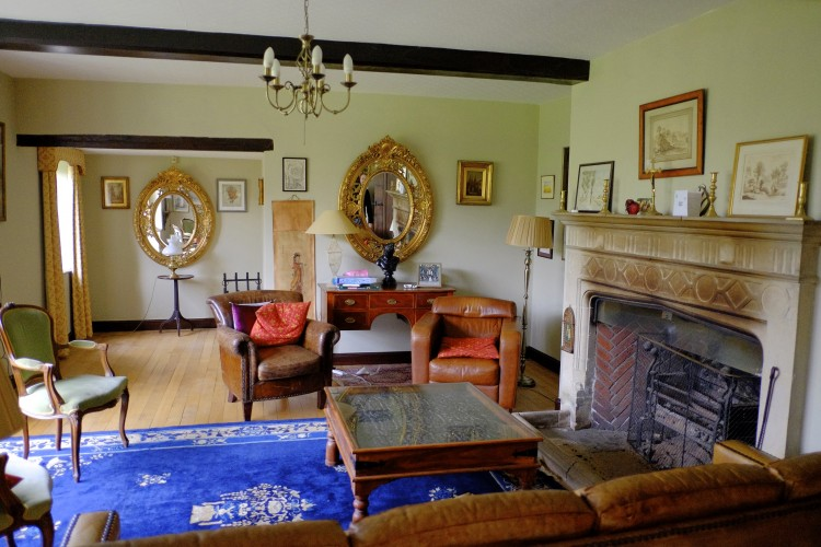 Music room at Slaybrook Hall