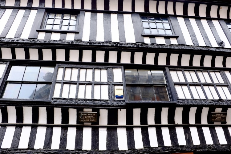 C/U Timbered Building