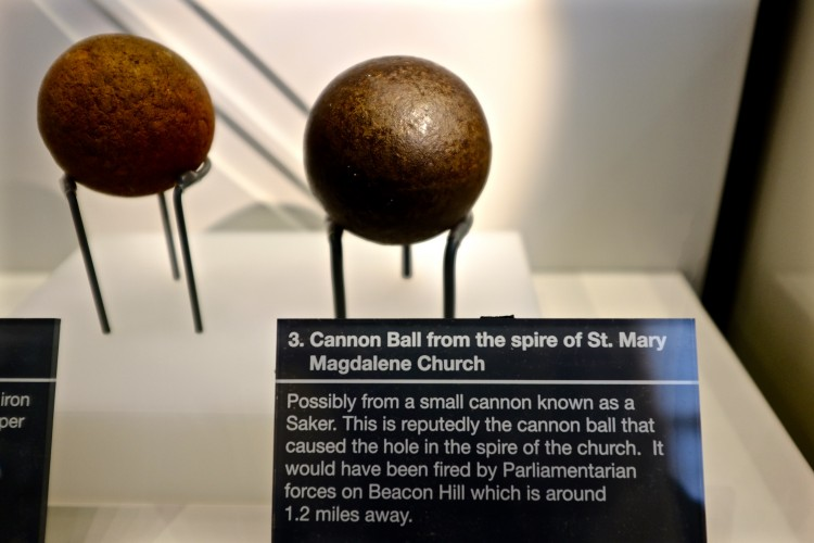 Cannon Ball in Museum