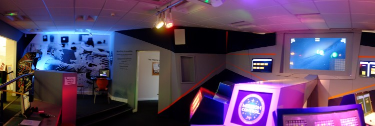 Video Museum Interior Panoramic