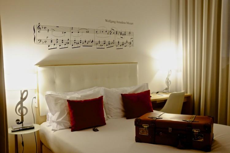 Musica Hotel Room