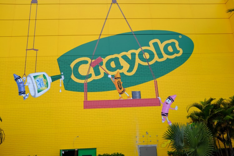 Crayola Sign