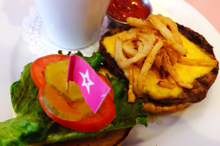 Burger & Fries at American Girl