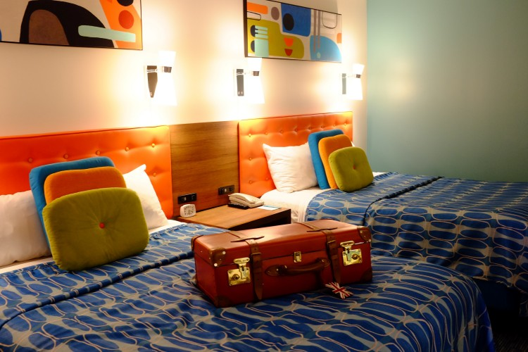 Cabana Bay Room Interior