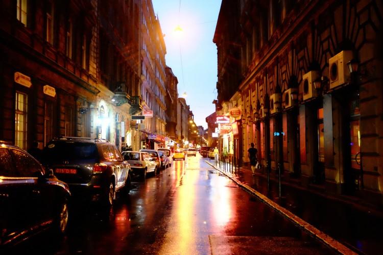 Night Scene - Street