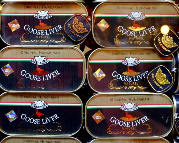 Goose Liver Tins